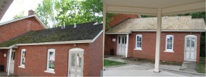 Raccoon Valley Bank House Moss Before & After